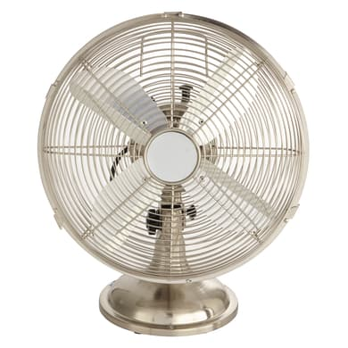 Ventilatore da appoggio EQUATION Mini Cooma cromo 40 W Ø 30 cm