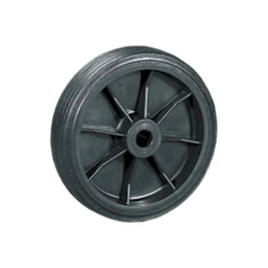 Ruota in caucciù nero Ø 100 cm