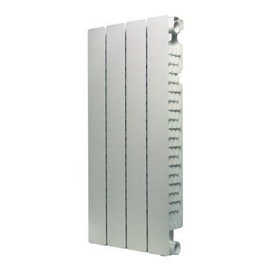 Radiatore acqua calda PRODIGE Modern in alluminio 4 elementi interasse 70 cm