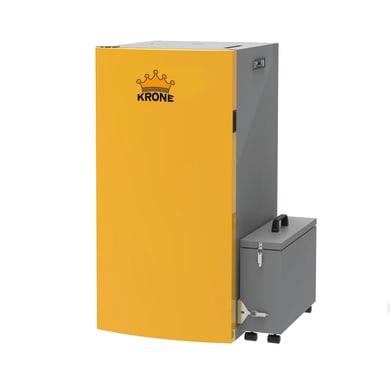 Caldaia a pellet BOILER28KR-PA arancio e grigio 24.5 W