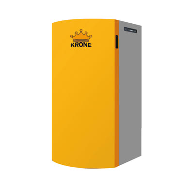 Caldaia a pellet BOILER28KR-AUTO arancio e grigio 24.5 W