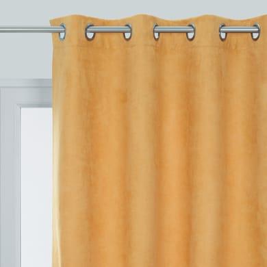 Tenda INSPIRE Manchester giallo occhielli 140 x 280 cm