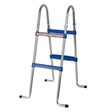 Scaletta per piscina fuori terra in acciaio Gre 2 gradini 98 cm