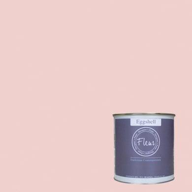 Smalto FLEUR EGGSHELL base acqua rosa pink rococo satinato 0.75 L