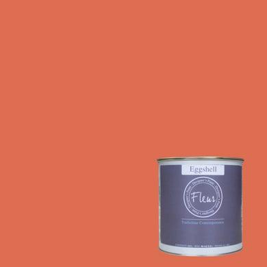 Smalto FLEUR EGGSHELL base acqua arancio pumpkin soup satinato 0.03 L