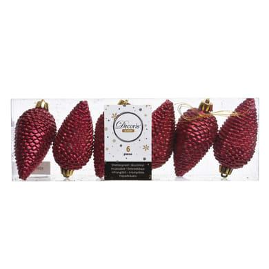 Pigna in plastica Bordeaux Ø 4.5 cm