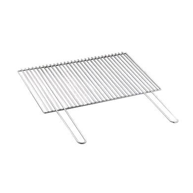 Griglia in acciaio cromato L 76 x P 43 cm