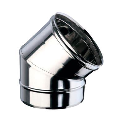 Curva 45° Curva inox aisi 316L a 45° Dn 100 mm in inox 316l (elevata resistenza in condizioni climatiche estreme)