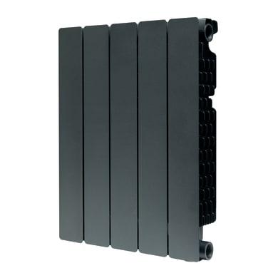 Radiatore acqua calda PRODIGE Modern in alluminio 5 elementi interasse 50 cm