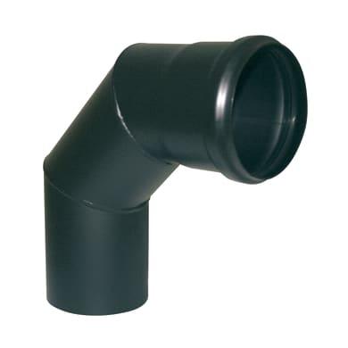 Curva 90° Curva smaltata nera  a 90° Dn 80 mm in acciaio al carbonio