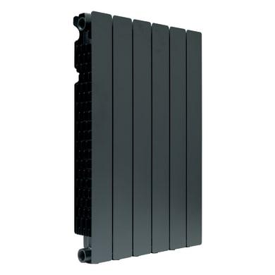 Radiatore acqua calda PRODIGE Modern in alluminio 6 elementi interasse 70 cm