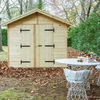 Casetta da giardino in legno Giulia,  superficie interna 6.25 m² e spessore parete 19 mm