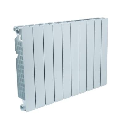 Radiatore acqua calda PRODIGE Modern in alluminio 10 elementi interasse 50 cm