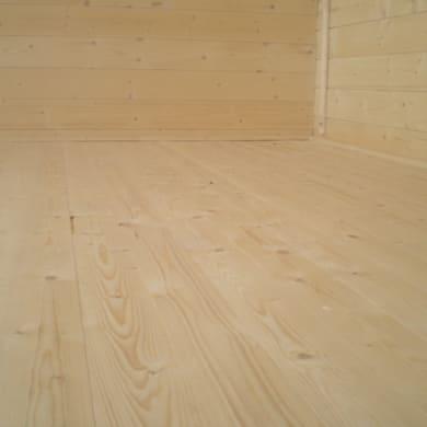 Pavimento per casetta estiva da giardino 361 x 361 x 16 cm