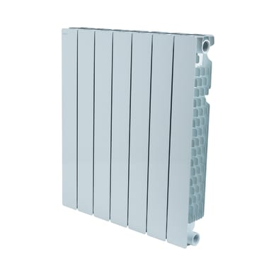 Radiatore acqua calda PRODIGE Modern in alluminio 7 elementi interasse 60 cm