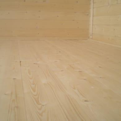 Pavimento per casetta estiva da giardino 347 x 474 x 16 cm