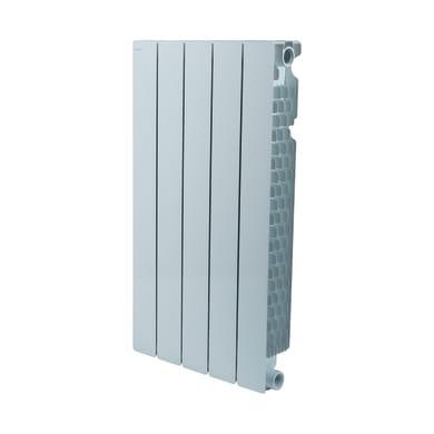 Radiatore acqua calda PRODIGE BY FONDITAL Modern in alluminio 5 elementi interasse 70 cm