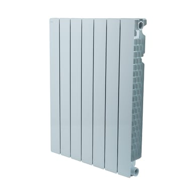 Radiatore acqua calda PRODIGE Modern in alluminio 7 elementi interasse 70 cm