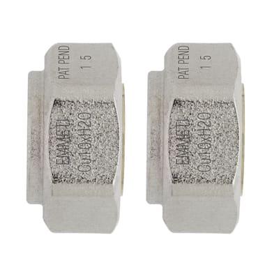 Adattatore per tubo in rame Ø 10 mm
