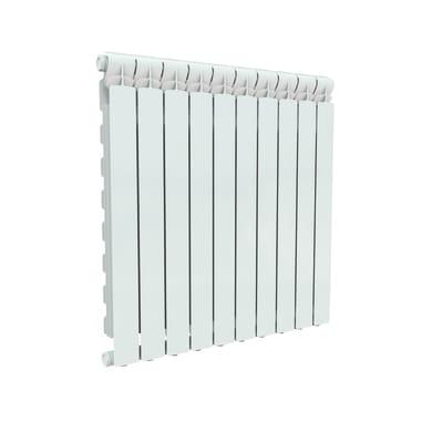 Radiatore acqua calda PRODIGE Wings in alluminio 10 elementi interasse 80 cm