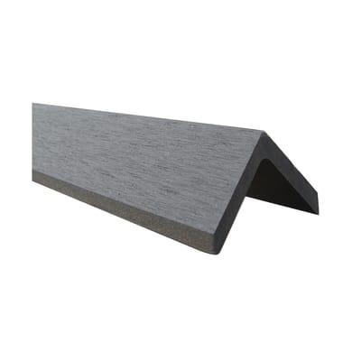 Battiscopa Kyoto 4.8 cm grigio