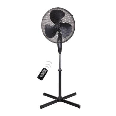 Ventilatore da appoggio EQUATION TX1608VR nero 45 W Ø 40 cm
