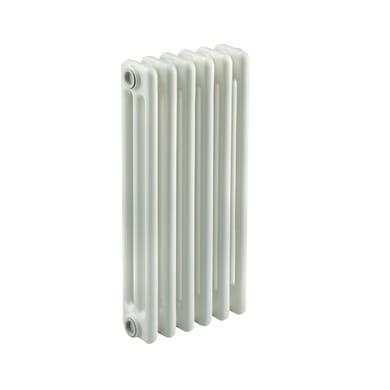 Radiatore acqua calda Tubolare in acciaio 5 elementi interasse 53.5 cm