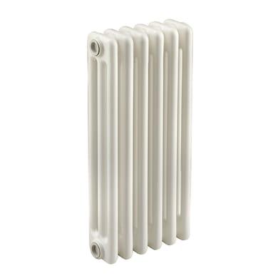 Radiatore acqua calda Tubolare in acciaio 6 elementi interasse 53.5 cm