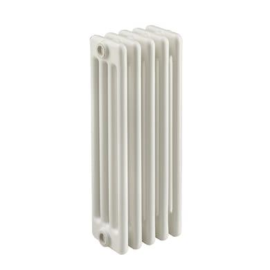 Radiatore acqua calda Tubolare in acciaio 4 elementi interasse 53.5 cm
