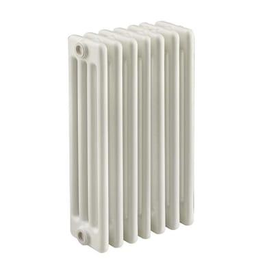 Radiatore acqua calda Tubolare in acciaio 7 elementi interasse 53.5 cm