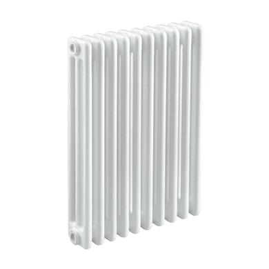 Radiatore acqua calda Tubolare in acciaio 10 elementi interasse 62.3 cm