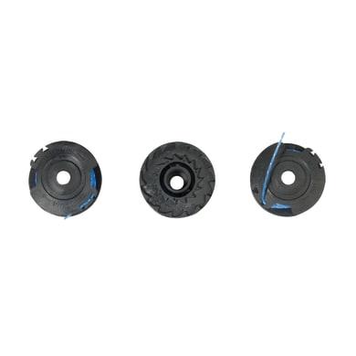 Bobina di filo RYOBI RAC 125 3 bobine 1.6mm per tagliabordi L 10 m Ø 1.5 mm