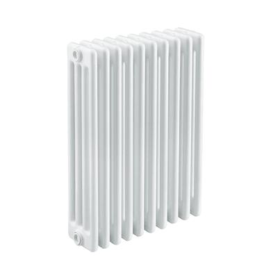 Radiatore acqua calda Tubolare in acciaio 10 elementi interasse 68.5 cm