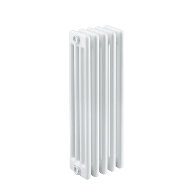 Radiatore acqua calda Tubolare in acciaio 5 elementi interasse 68.5 cm