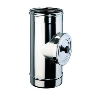 Raccordo con porta d'ispezione in inox 316l (elevata resistenza in condizioni climatiche estreme)