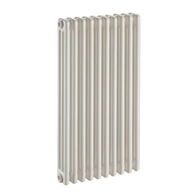 Radiatore acqua calda Tubolare in acciaio 10 elementi interasse 83.5 cm