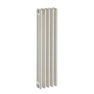 Radiatore acqua calda Tubolare in acciaio 5 elementi interasse 83.5 cm