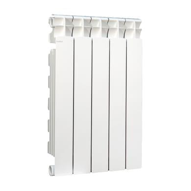 Radiatore acqua calda Klassic 600/100 in alluminio 5 elementi interasse 60 cm