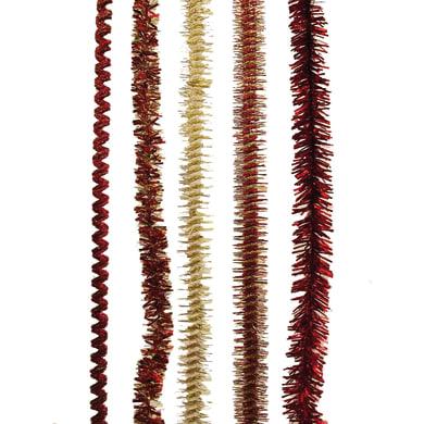 Ghirlanda natalizia giallo / dorato L 200 cm , Ø 6 cm