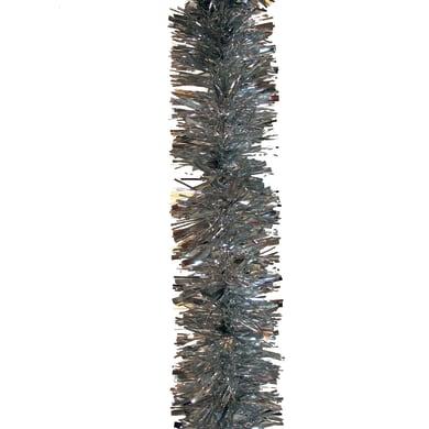 Ghirlanda natalizia grigio / argento L 1000 cm , Ø 8 cm