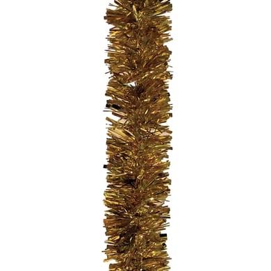Ghirlanda natalizia giallo / dorato L 1000 cm , Ø 8 cm