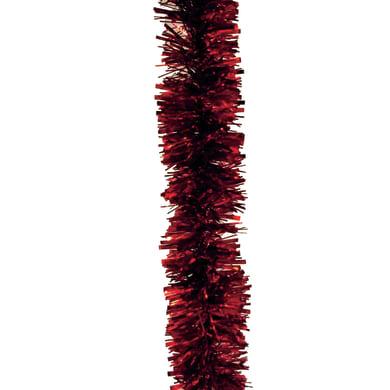 Ghirlanda natalizia rosso L 1000 cm , Ø 8 cm
