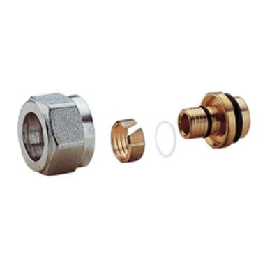 Adattatore per tubo multistrato Giacomini Ø 14 mm