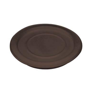 Rosone Rosone  legna smaltato marrone DN 120 in acciaio al carbonio