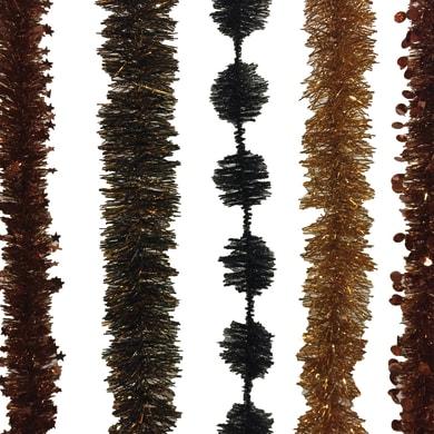 Ghirlanda natalizia marrone L 200 cm , Ø 8 cm