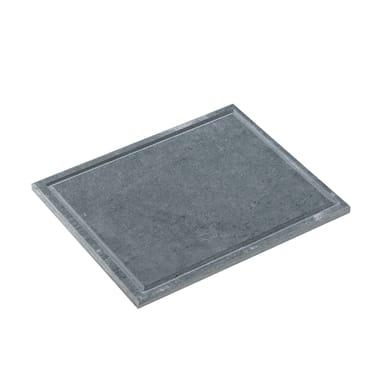 Piastra in pietra naturale L 25 x P 33 cm