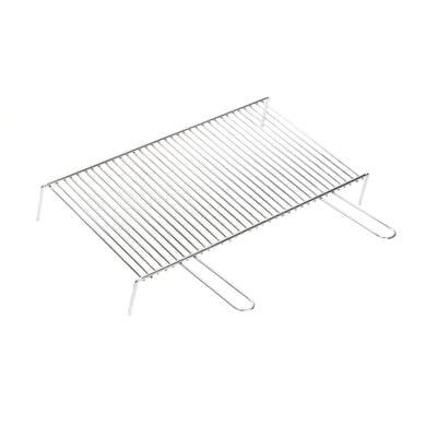 Griglia in acciaio cromato L 60 x P 35 cm