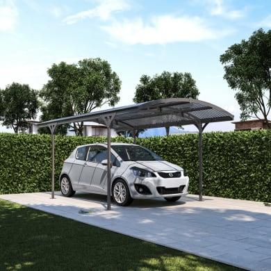 Carport in alluminio Lucca L 495  x P 288  x H 242