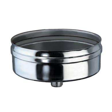 Scarico condensa Sacrico condensa Dn 130 mm in inox 316l (elevata resistenza in condizioni climatiche estreme)