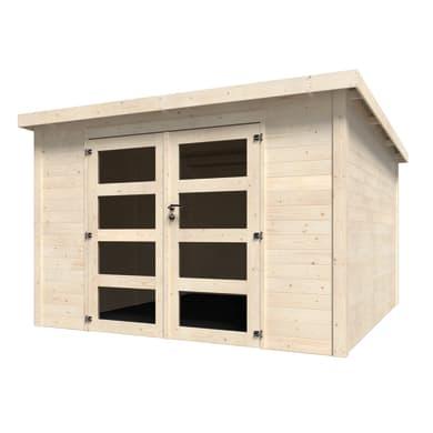 Casetta da giardino in legno Oleandro 8.65 m² spessore 28 mm